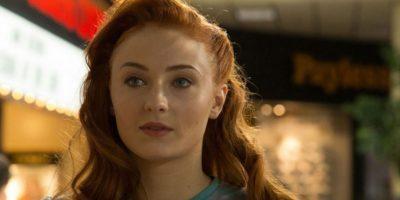 """Jean Grey es interpretada por Sophie Turner (Sansa en """"Juego de Tronos""""). Esta fue personificada por Famke Jansen. Foto:vía Fox"""