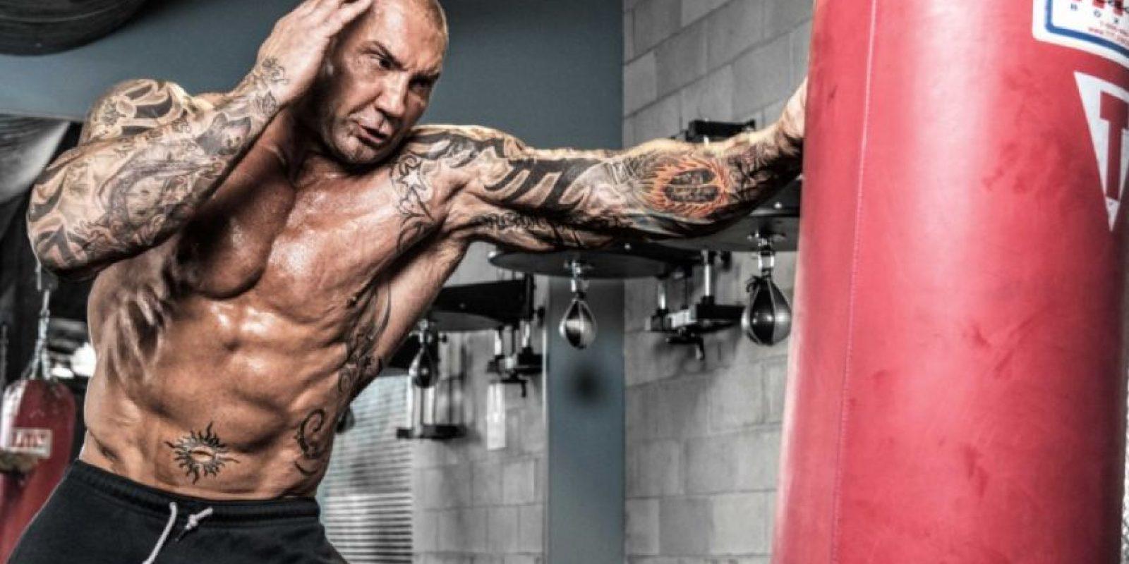 A Batista no le gustó como lo trataron en sus despedidas Foto:Vía instagram.com/davebautista
