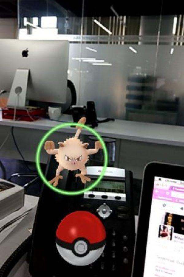 El juego está basado en realidad aumentada. Foto:Pokémon Go