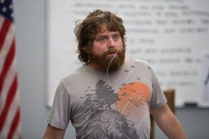 "Zach Galifianakis interpretó al irreverente ""Alan Garner"" en esta trilogía. Foto: Facebook/The Hangover"