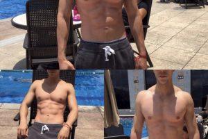 Medios mexicanos aseguraban que el actor había adelgazado por un desorden alimenticio… Foto:Instagram @christianchavezreal