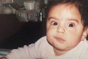 """Así era el """"hombre más guapo del mundo"""" cuando era un bebé. Foto:Instagram @yasmin.jaz"""