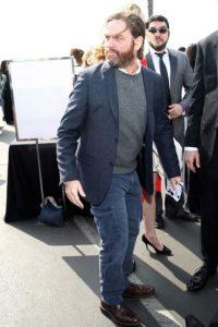 Ahora el actor luce así, luego de años de malos hábitos. Foto:Getty Images