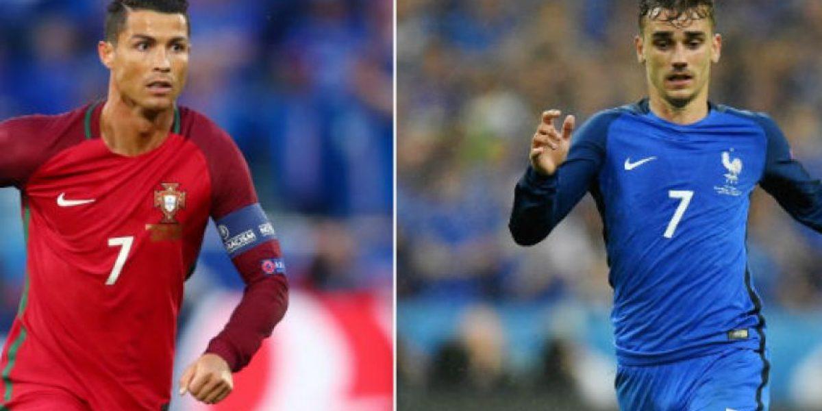 Cristiano Ronaldo vs. Antoine Griezmann, duelo de figuras en la final de la Euro 2016