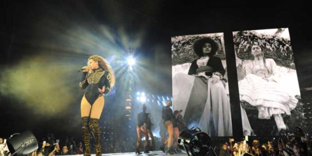 Beyoncé protestó contra la violencia racista en Estados Unidos