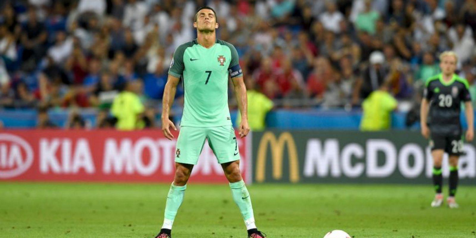 Cristiano Ronaldo apareció en la semifinal y se despachó un gol y una asistencia Foto:Getty Images