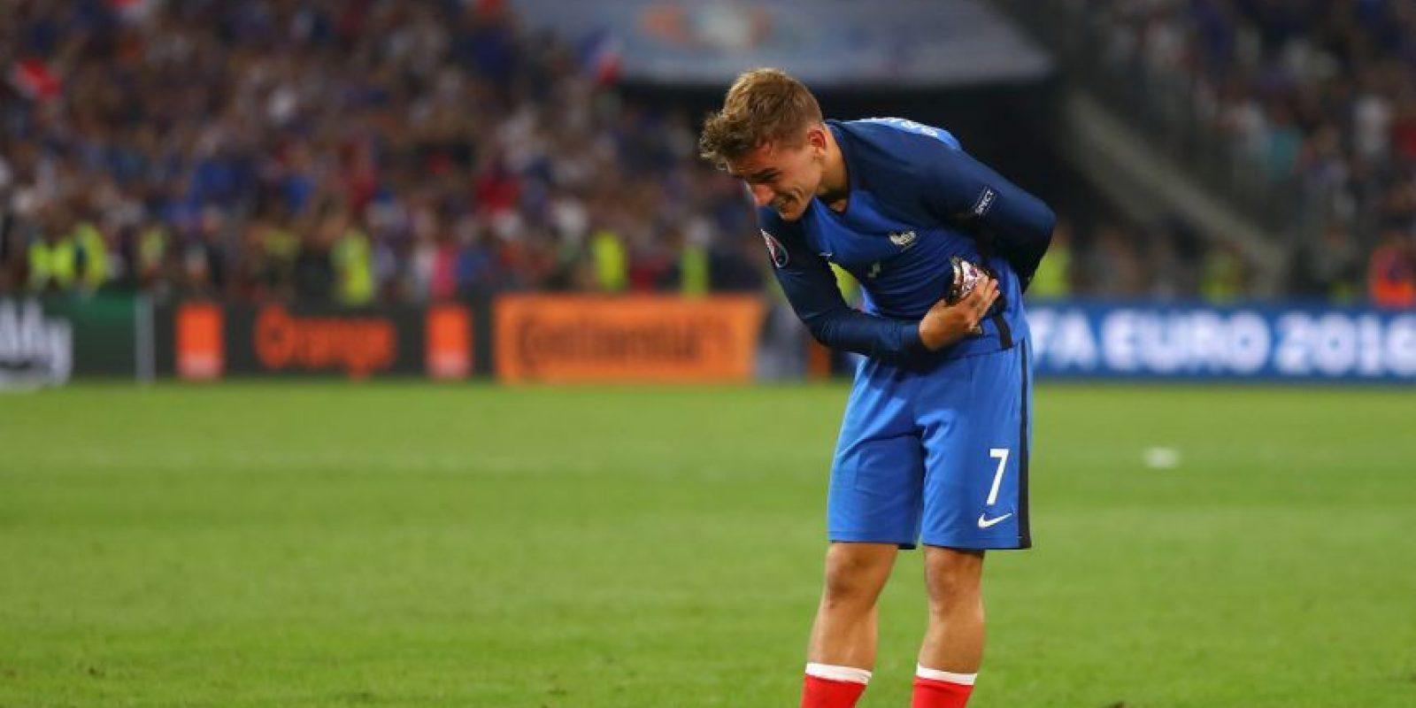 Antoine Griezmann fue la figura al convertir dos goles Foto:Getty Images