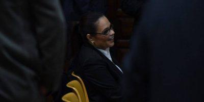 Roxana Baldetti es notificada en la audiencia de
