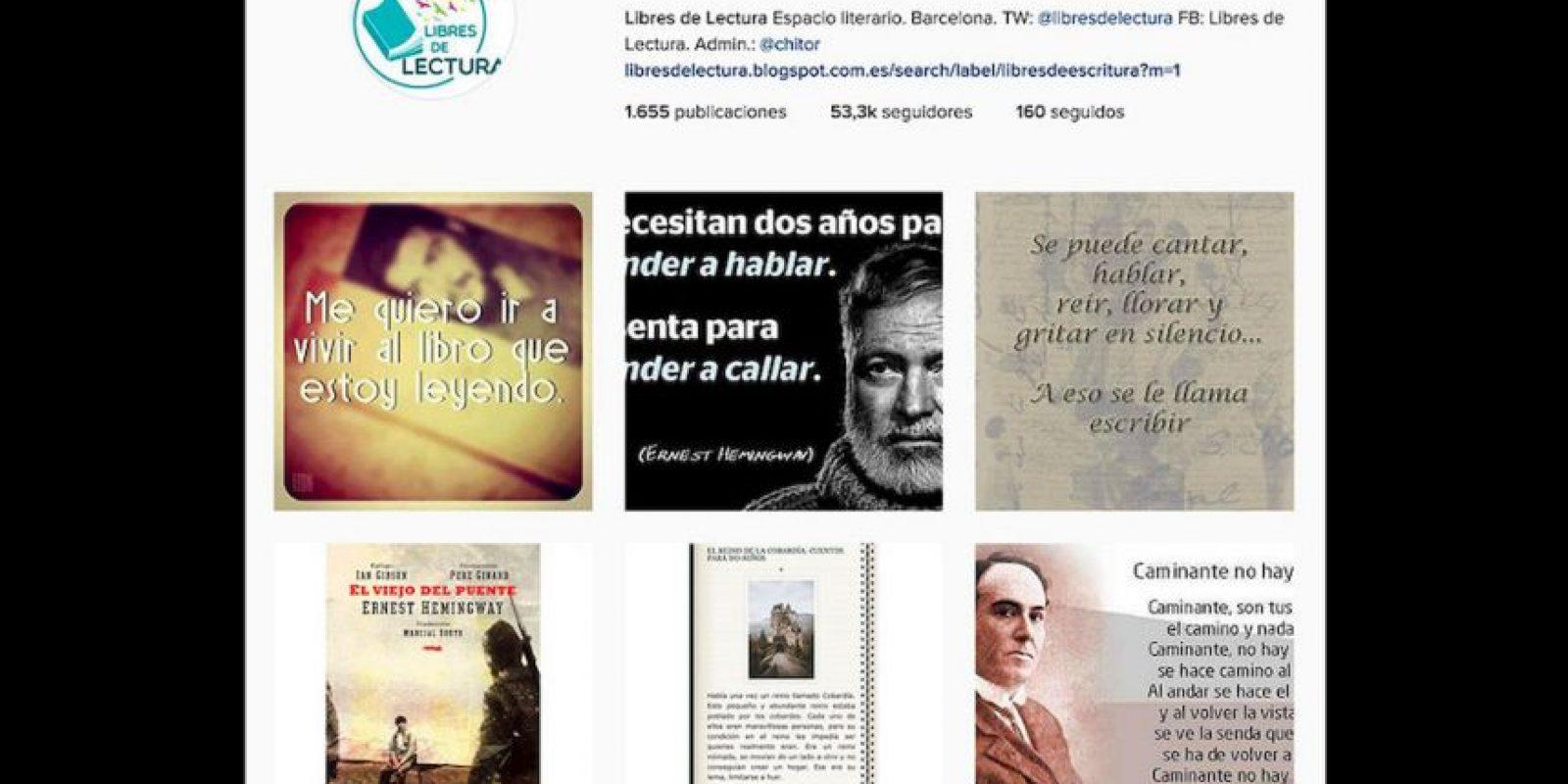 ¿A ustedes qué les gusta más?, leer en sus dispositivos electrónicos o en material impreso. Foto:Reproducción Instagram
