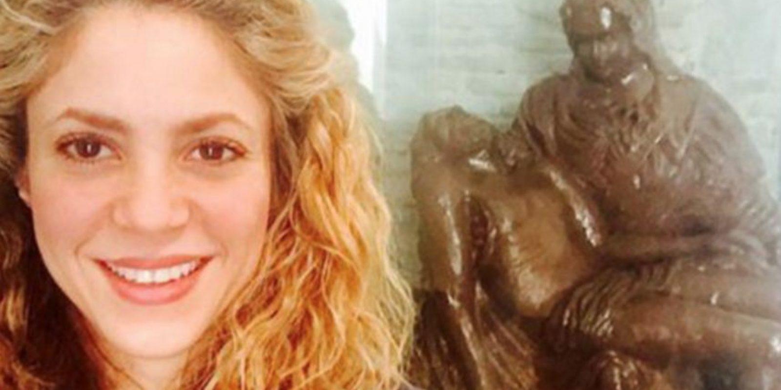 Shakira comenzó a ser asidua de los selfies luego de cumplir 39 años. Foto:vía Instagram
