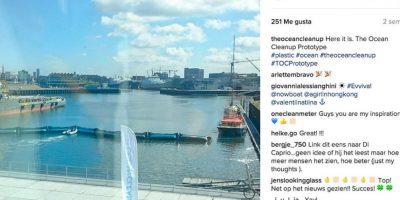 Se espera que el proyecto pueda comenzar operaciones en el año 2020. Foto:Instagram theoceancleanup