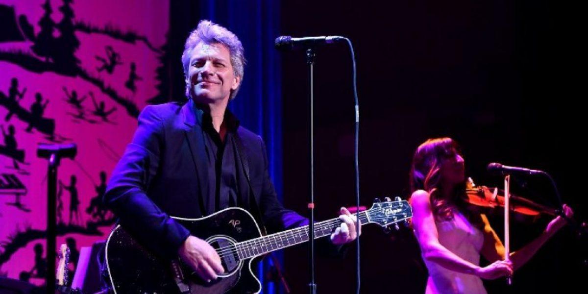 Jon Bon Jovi cantó en una boda privada, pero no estaba contratado