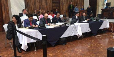 ¿Hubo o no discusión entre Cano, Baldetti y Pérez Molina en plena audiencia?