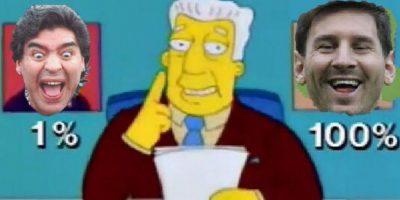 Memes de Maradona por su odio a Los Simpson revientan las redes