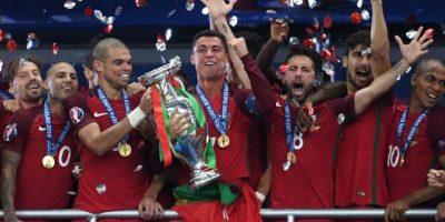 #Euro2016 Portugal celebra en París su primer título del continente