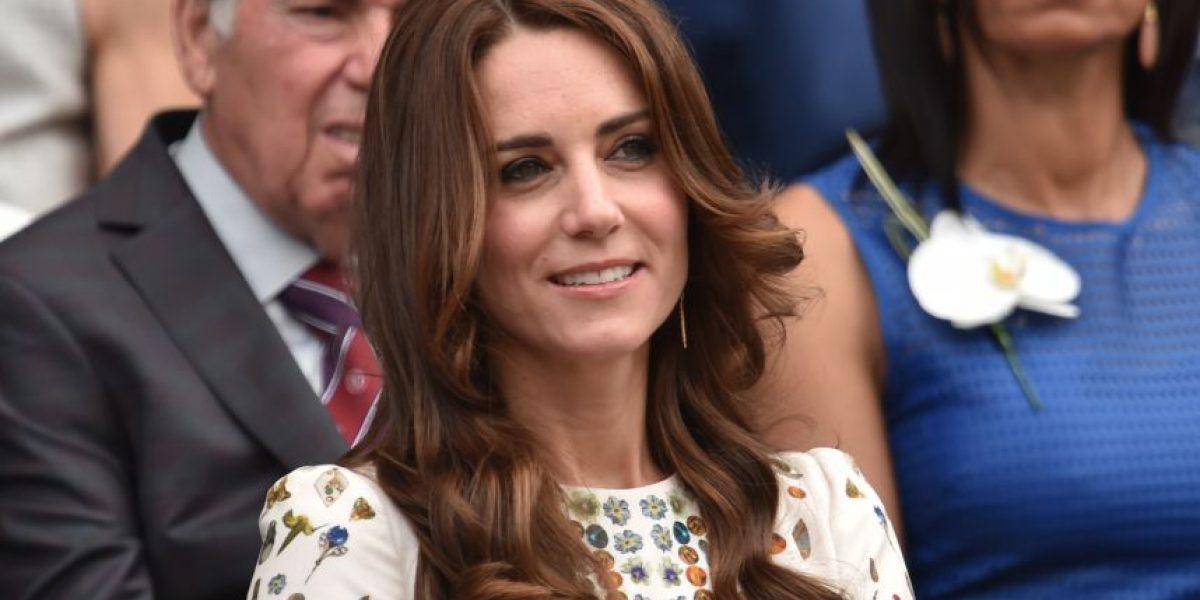 Kate Middleton se roba las miradas en Wimbledon con un vestido con estampado