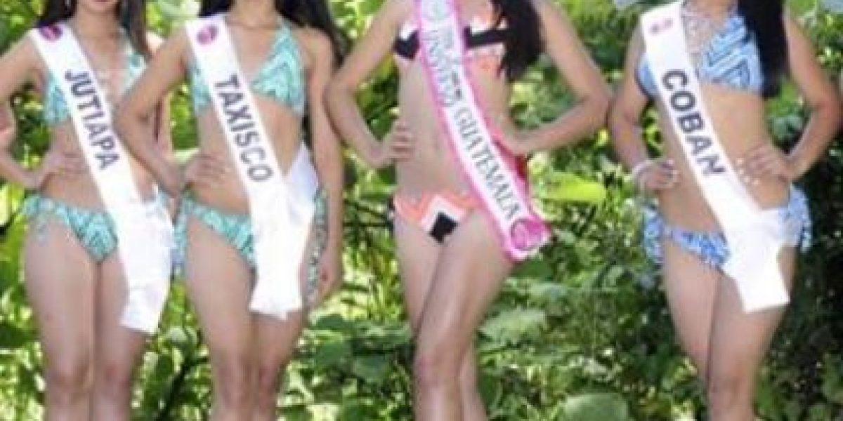 Descalifican del concurso de Miss Teen Latina a representante de Cobán