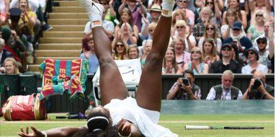 ¡Sensacional! Serena estuvo perfecta en Wimbledon y así fue su festejó