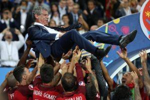 Portugal no pudo optar por el tope de 27 millones de euros, ya que perdieron 1,5 millones de euros por ser terceros de la fase de grupos Foto:AFP