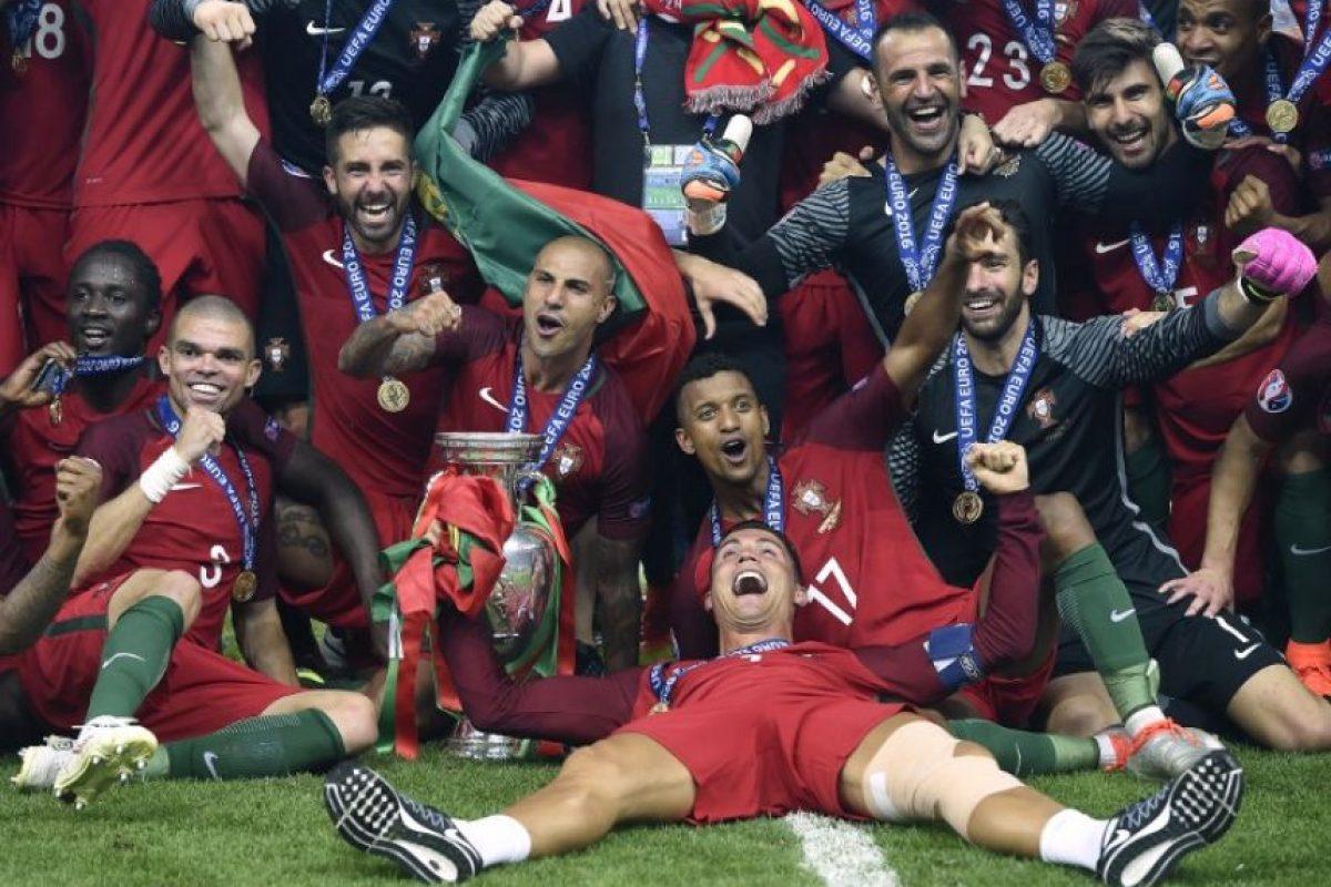 Además, la Federación Portuguesa de Fútbol recibirá 25,5 millones de euros por el hito Foto:AFP