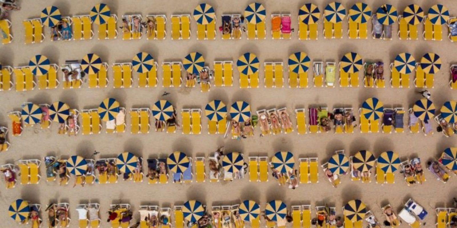 Tercer lugar: Campamento de verano en Gran Canaria Foto:Autor: Karolis Janulis – Dronestagram.com