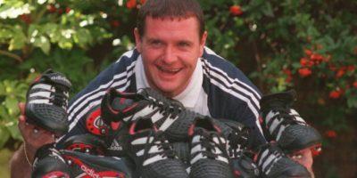 1995: Gascoigne llega a Glasgow Rangers Foto:Getty Images