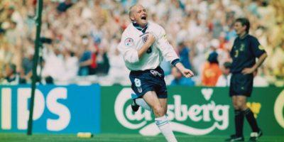 1996: Gascoigne sigue teniendo lugar en Inglaterra Foto:Getty Images