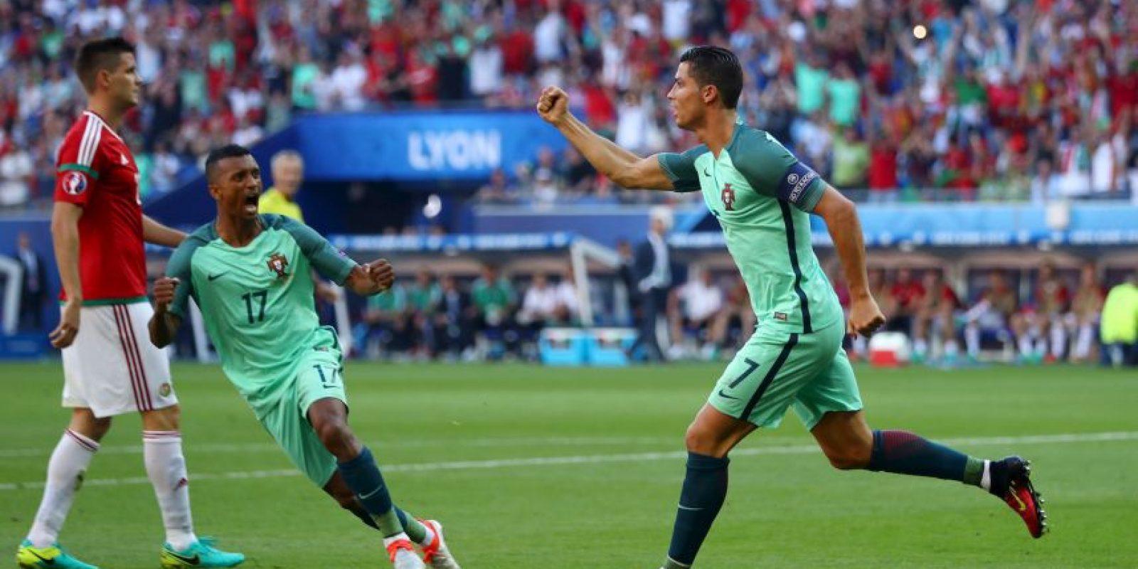 En el tercer partido aparecería Cristiano Ronaldo y se despacharía dos goles y una asistencia en el empate a tres tantos que les permitió clasificar como uno de los cuatro mejor tercero Foto:Getty Images