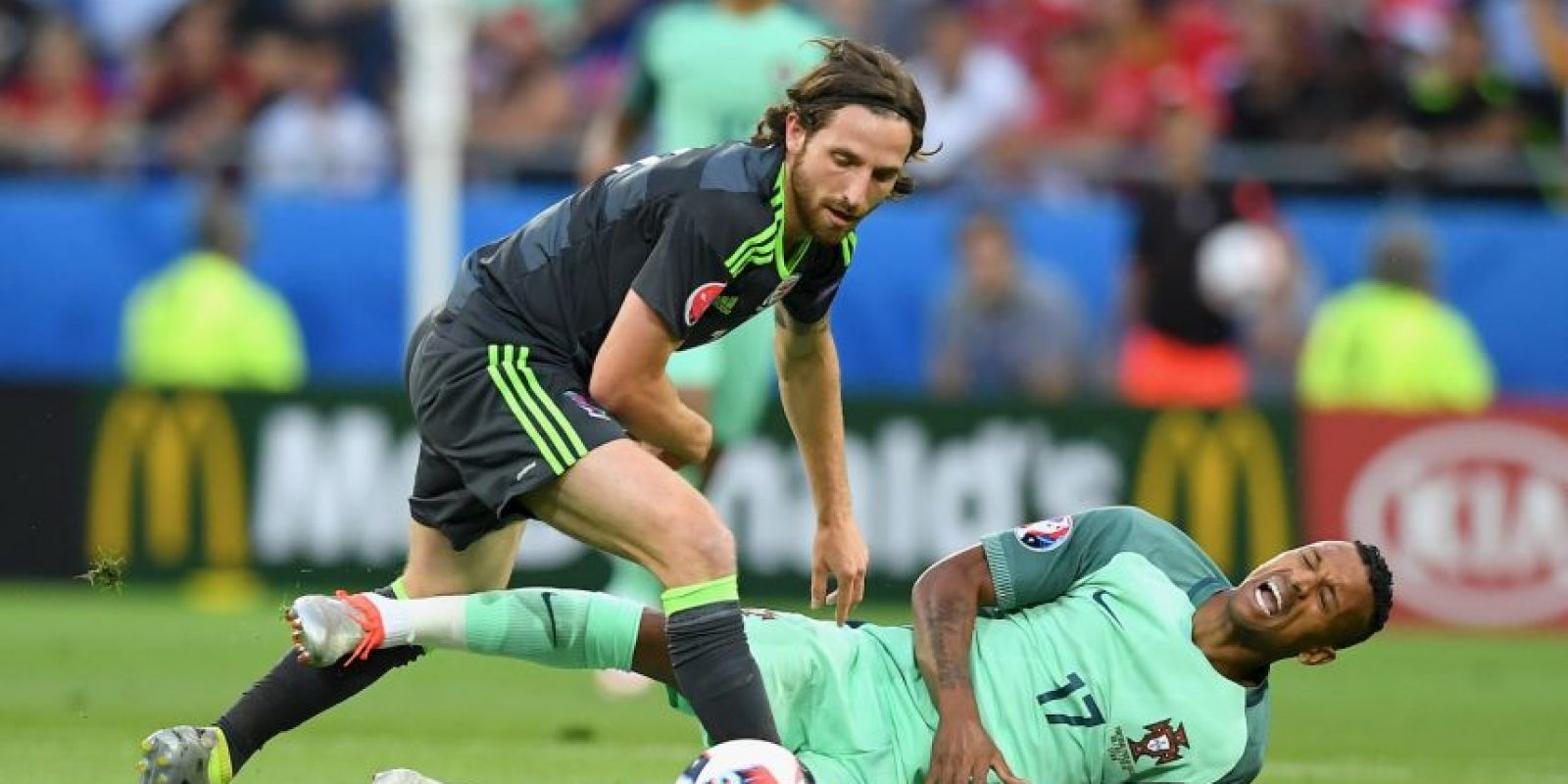 Joe Allen (Gales) Foto: Getty Images