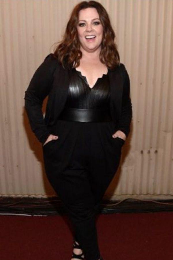 Ha sido famosa por bajar de peso. Foto:vía Getty Images