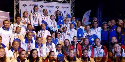 Guatemala brilla en Centroamericano y del Caribe de nado sincronizado