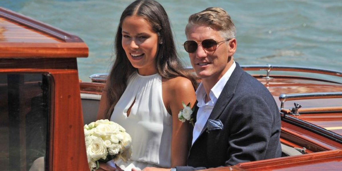 VIDEO. Bastian Schweinsteiger y la bella Ana Ivanovic presumen romántica boda