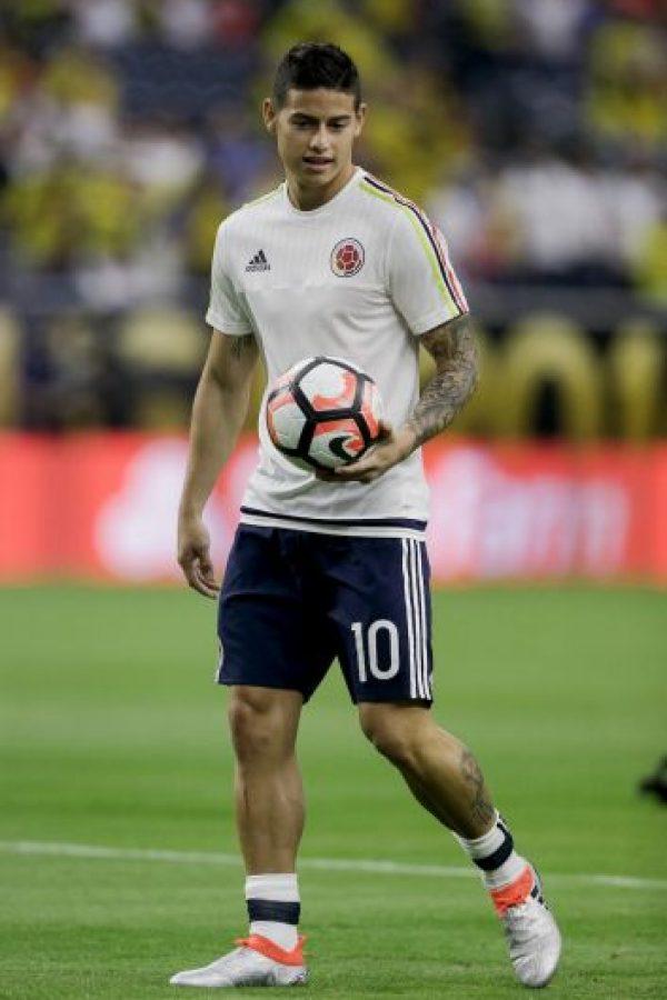 4. James Rodríguez (Real Madrid/Colombia). 70 millones de euros Foto:Getty Images