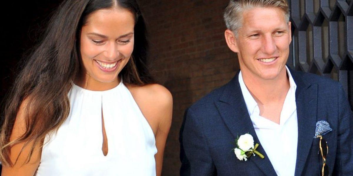 Ana Ivanovic y Schweinsteiger se casan en Venecia