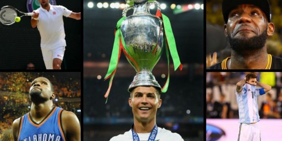 Cristiano Ronaldo y los 34 deportistas en el top 100 de Forbes