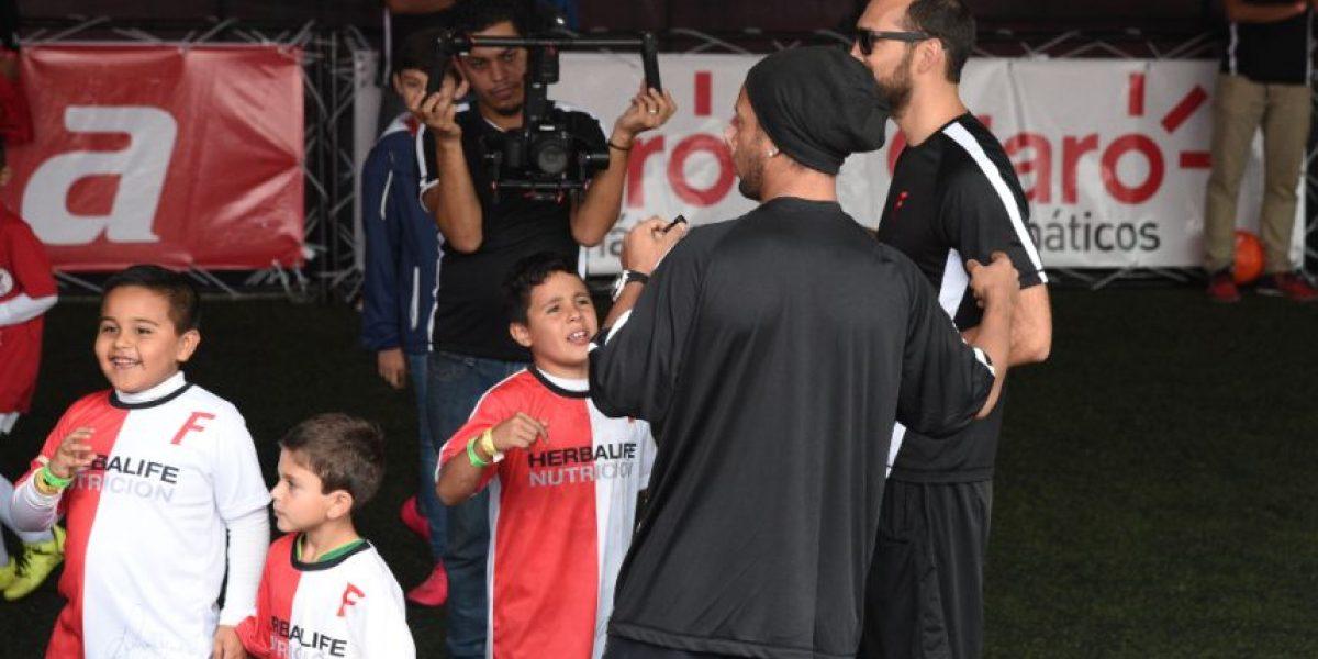 VIDEO. Niño guatemalteco que no celebró con Ronaldinho es sensación en redes