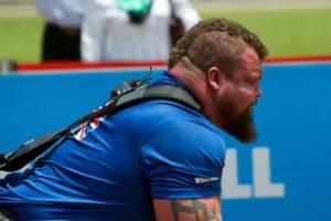El hombre del nuevo récord mundial tiene 28 años Foto:Vía instagram.com/eddie_hall_strong