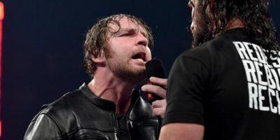 Dean Ambrose aceptó el reto de Seth Rollins Foto:WWE