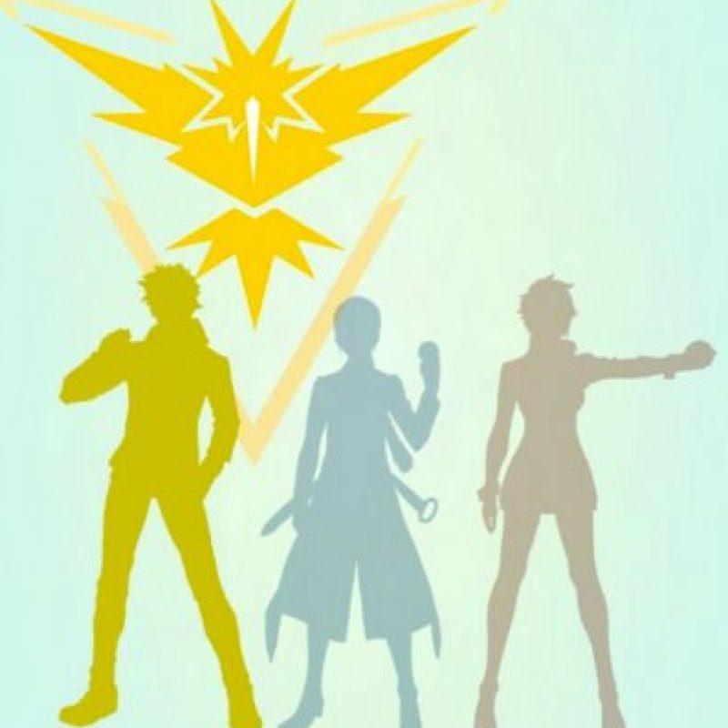 Equipo Amarillo/Instinto Foto:Nintendo/Pokémon Go