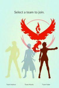 Equipo Rojo/Valor Foto:Nintendo/Pokémon Go