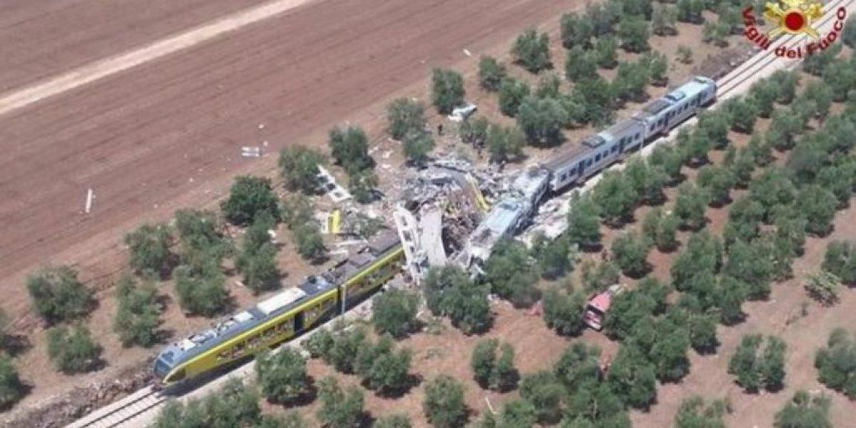 Un choque frontal entre trenes ha dejado al menos 10 muertos