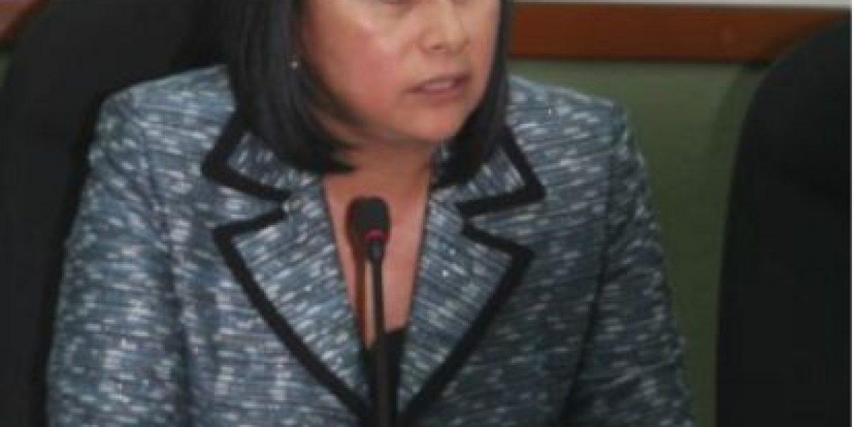 Diputada Delia Back pide interpelar al ministro de Agricultura