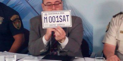 SAT pone a disposición placas de uso temporal