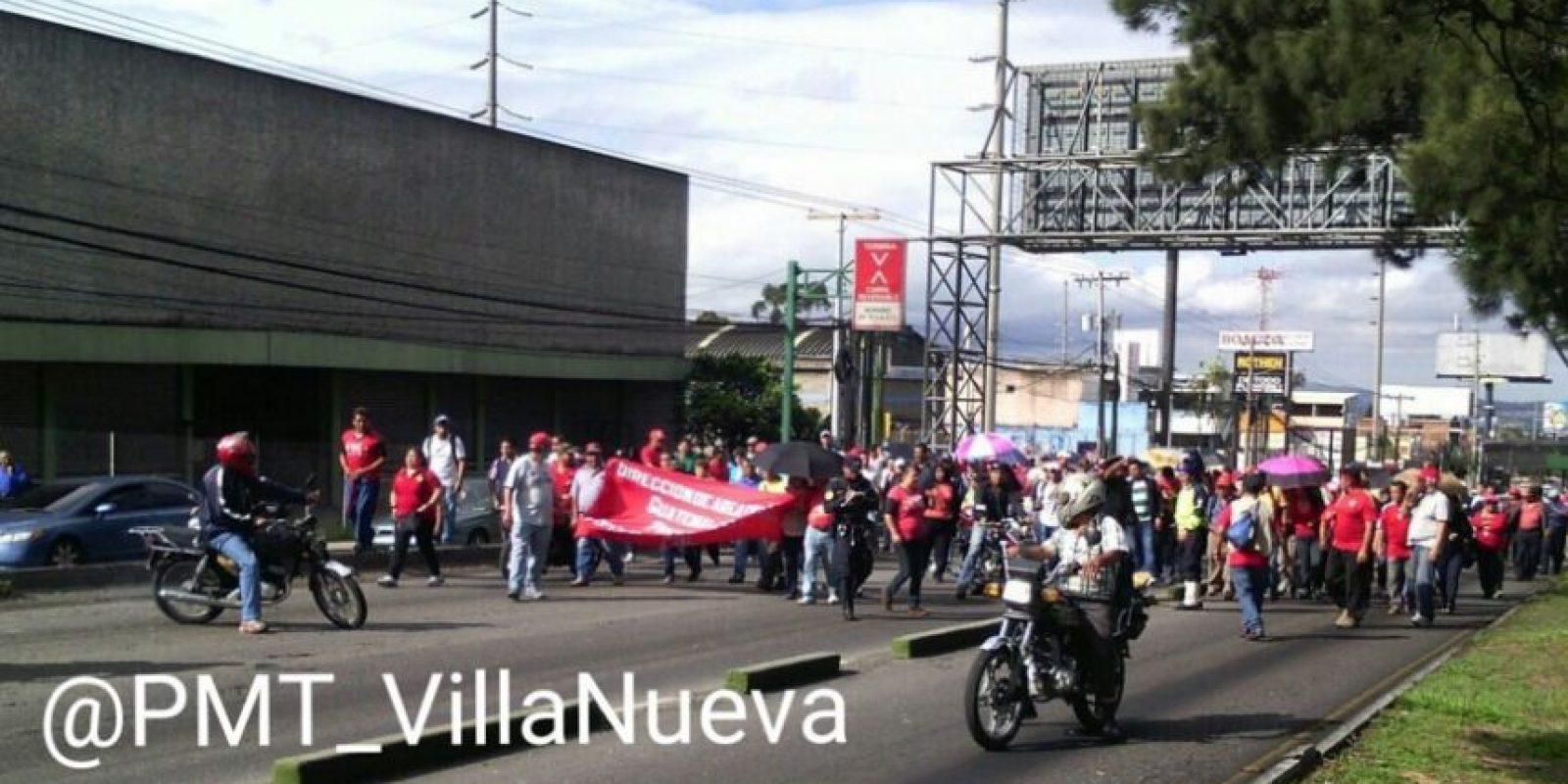Foto:PMT Villa Nueva