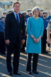 """Es la segunda mujer en ocupar este puesto. La primera fue Margaret Thatcher """"La Dama de Hierro"""" Foto:Getty Images"""