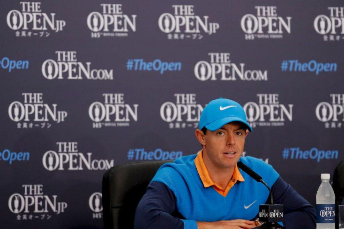 Lo mismo que Rory Mcllroy, otro golfista top Foto:Getty Images