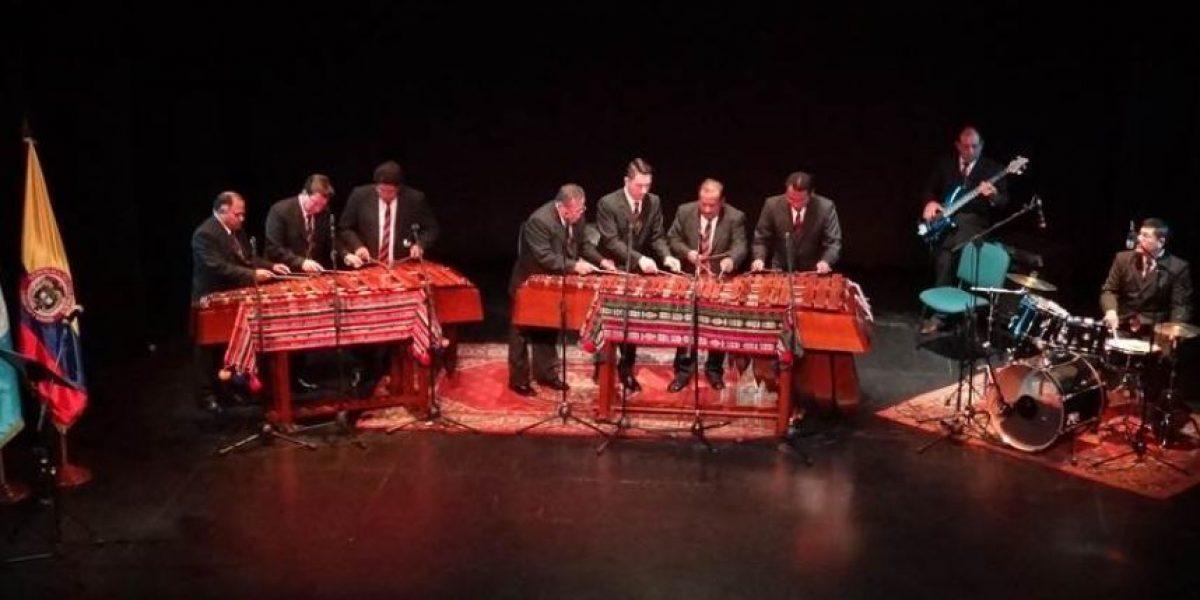La Marimba de Inguat conquistó a Colombia con 4 hermosos conciertos