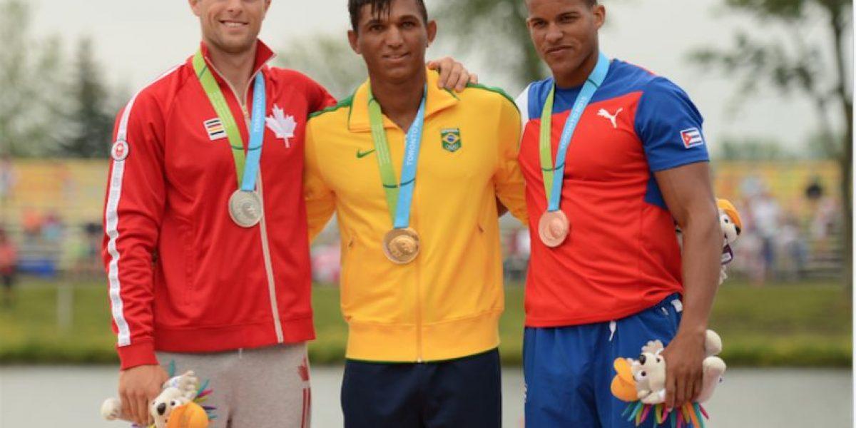¡Increíble! Tiene solo un riñón y va por tres oros en los Juegos Olímpicos