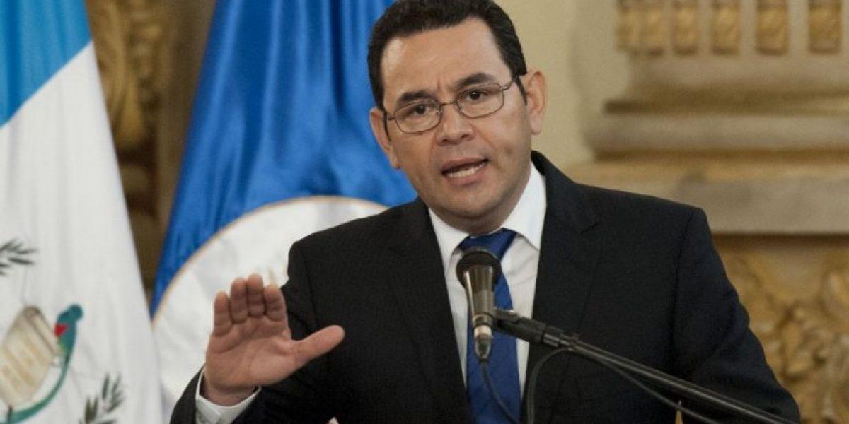 El mensaje de Jimmy Morales a la delegación guatemalteca que participará en Rio