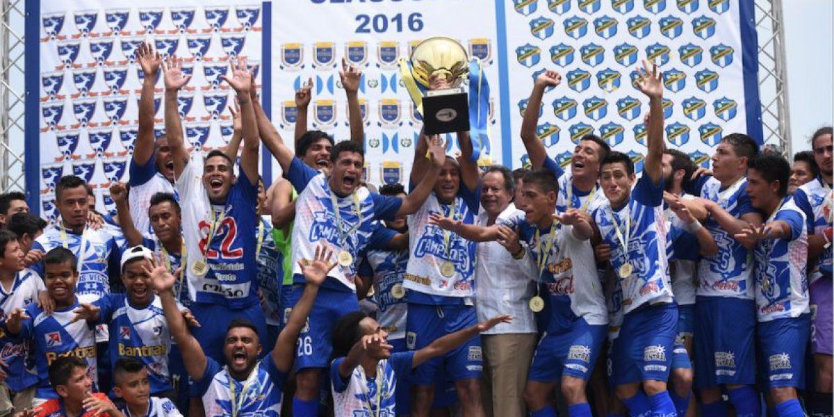 Los campeones guatemaltecos usarán balón de talla mundial